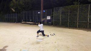 野球初体験のティエン